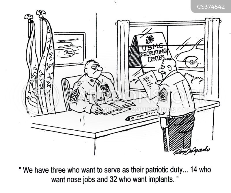 Army Recruiters Cartoons and Comics - funny pictures from