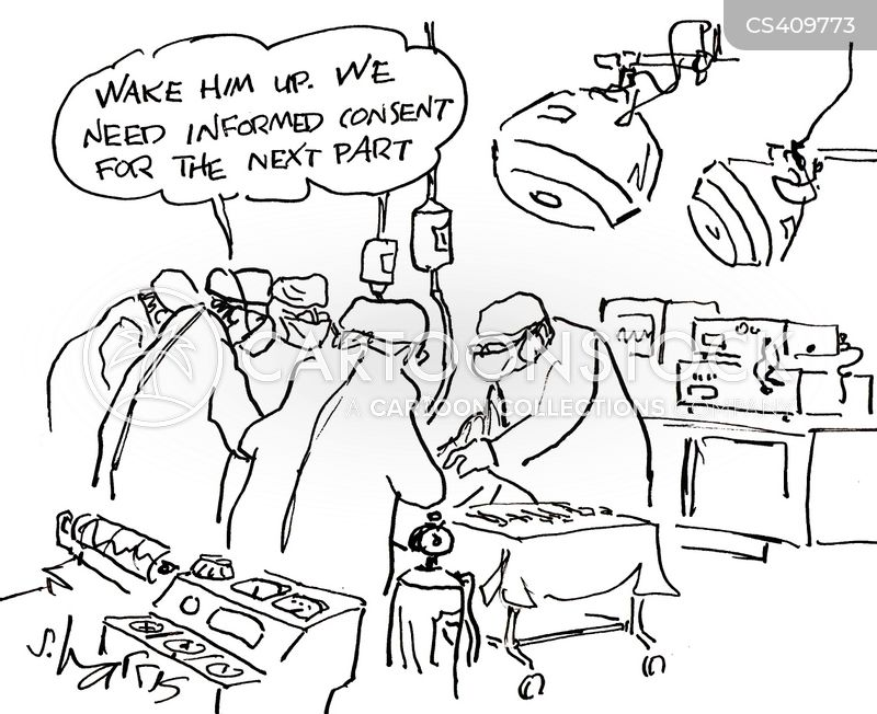 Image result for informed consent cartoon