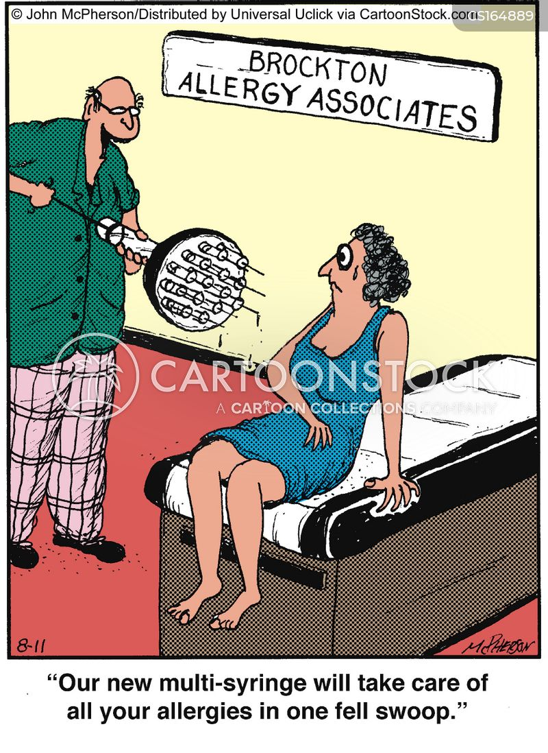 Allergy cartoons, Allergy cartoon, funny, Allergy picture, Allergy pictures, Allergy image, Allergy images, Allergy illustration, Allergy illustrations