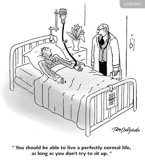 paralysis cartoon