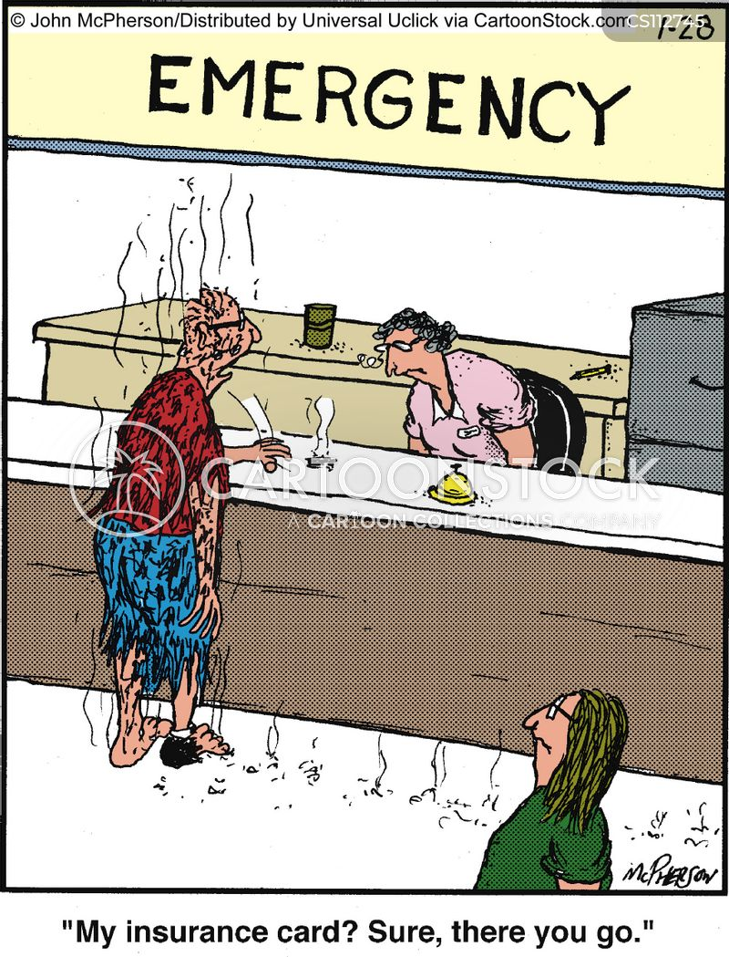 Insurance Card Cartoons And Comics Funny Pictures From Cartoonstock