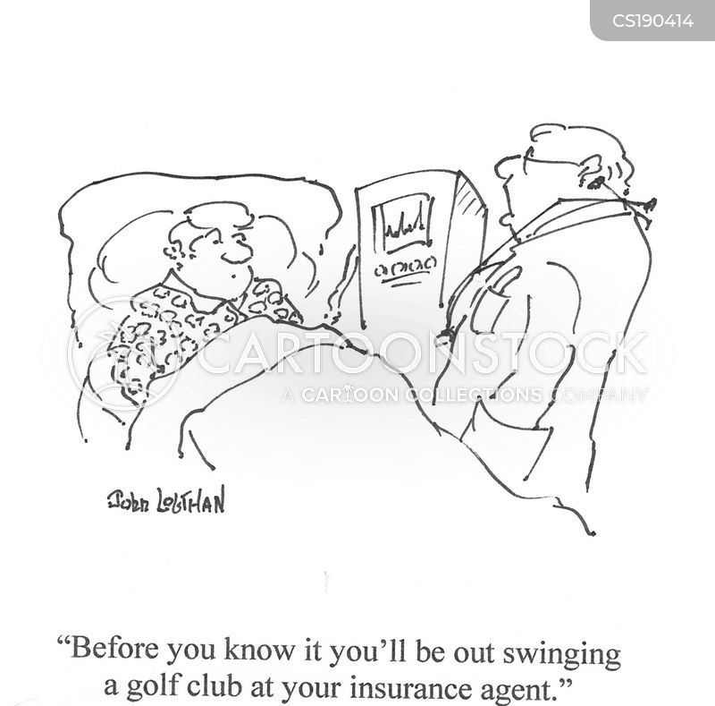 insuring cartoon