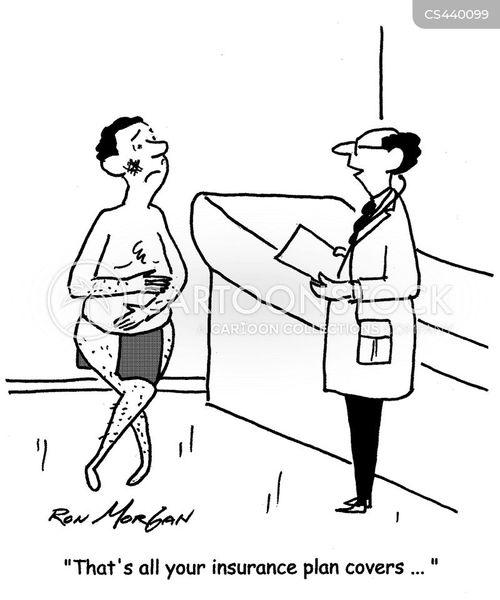 insurance plans cartoon