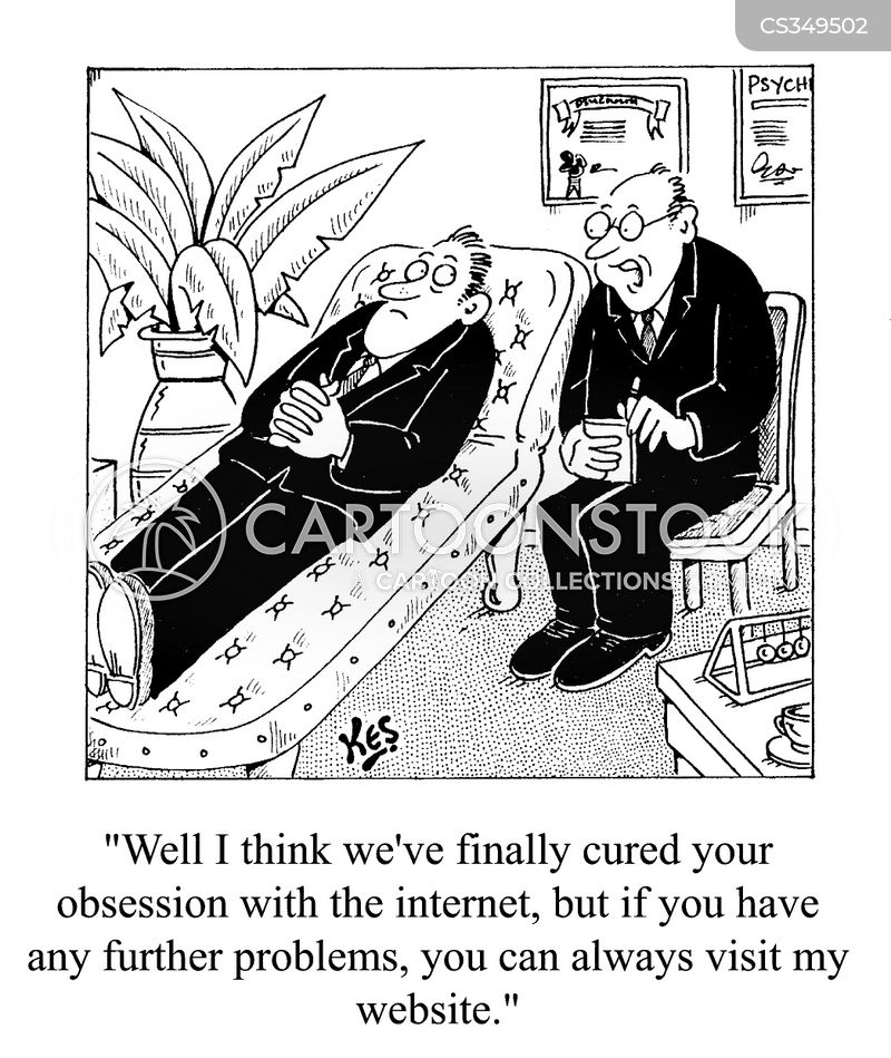 web site cartoon