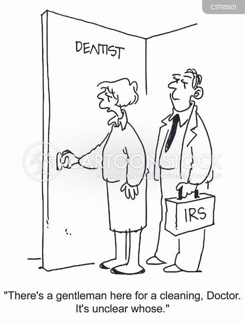 dental hygienist cartoon