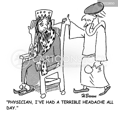 head-aches cartoon