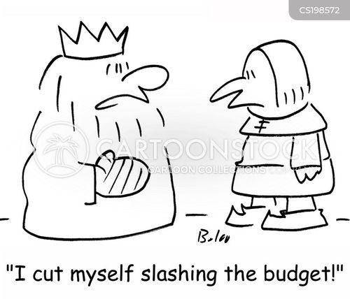 slashes cartoon