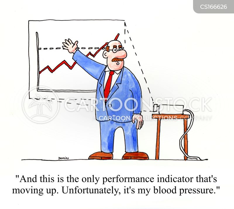 key performance indicator cartoon