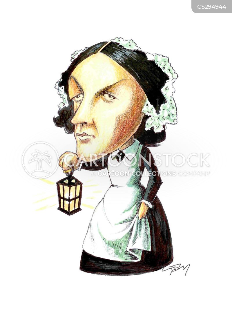 Cartoon Characters 21st Century : Florence nightingale cartoons and comics funny pictures