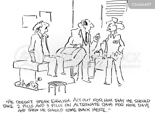 language gaps cartoon