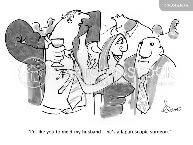 keyhole surgeon cartoon
