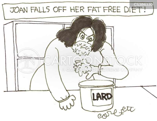 lard cartoon