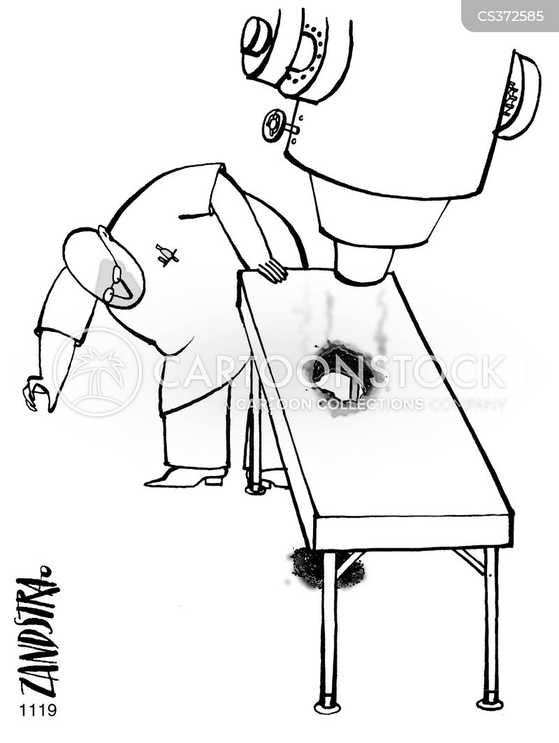 surgical equipment cartoon