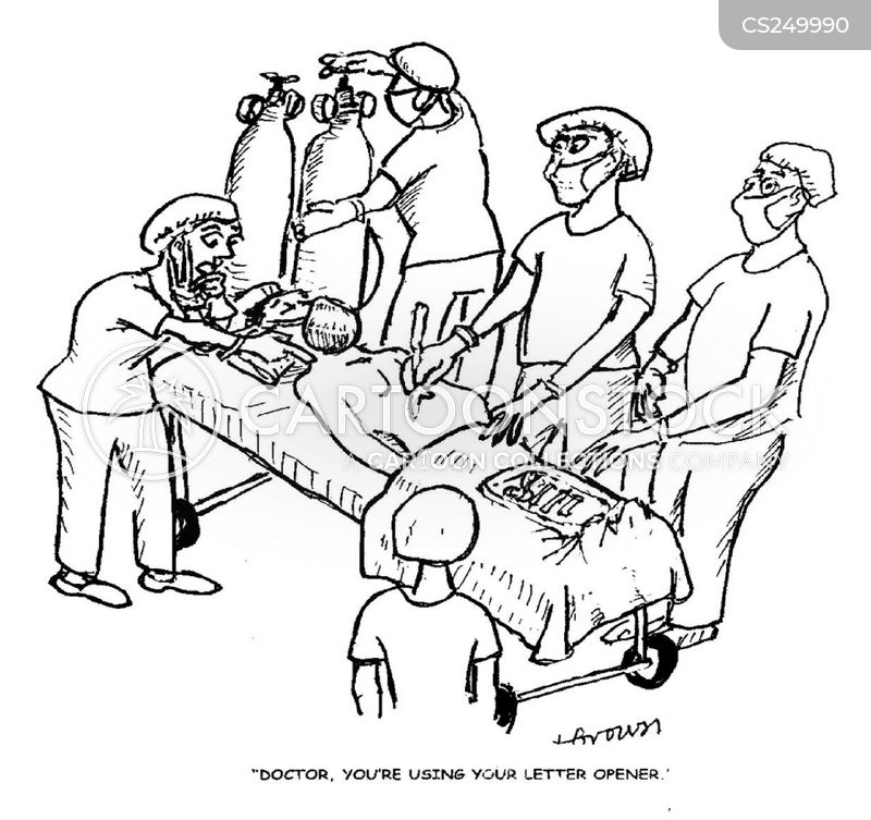 Surgical Equipment Cartoons And Comics Funny Pictures