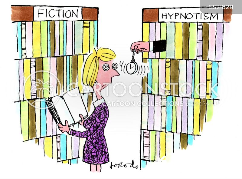 book sections cartoon