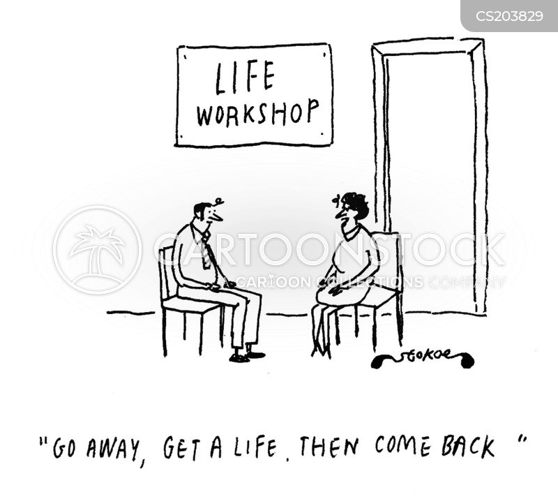 Get a Life Loser Get a Life Cartoon 4 of 20