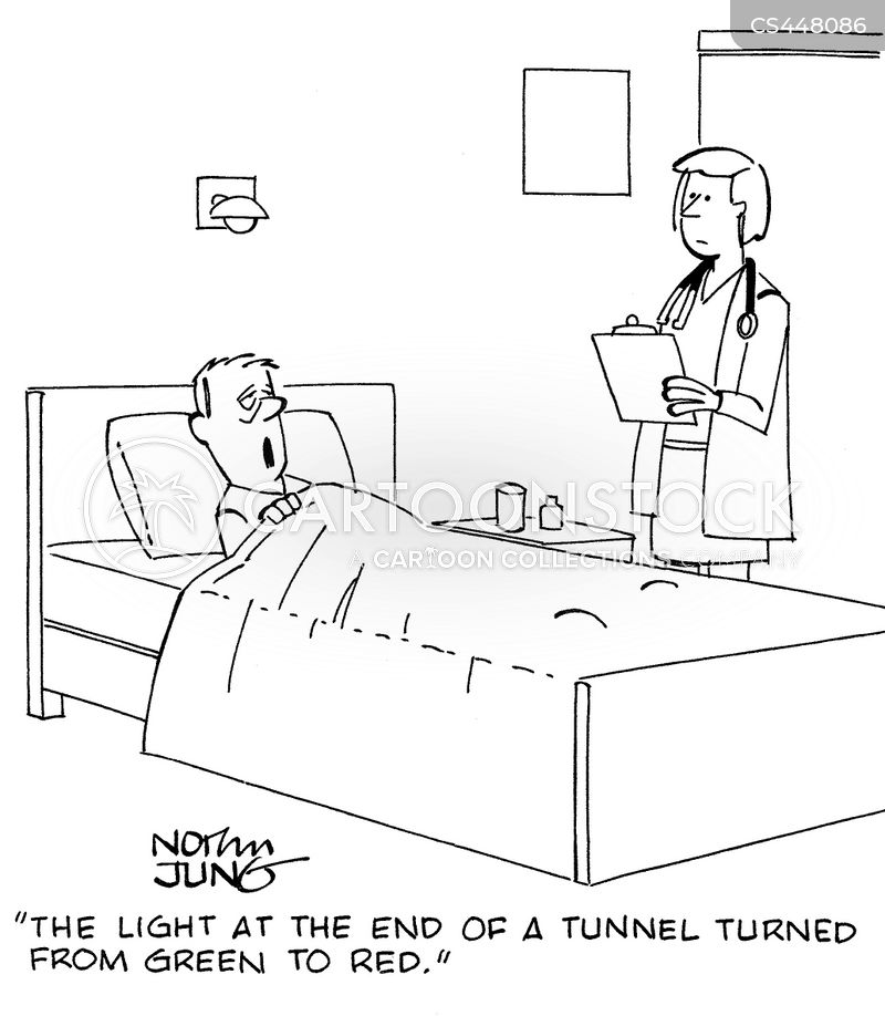 Light At The End Of The Tunnel Cartoons And Comics Funny Pictures