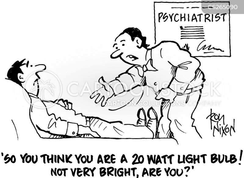 psychiatric help cartoon