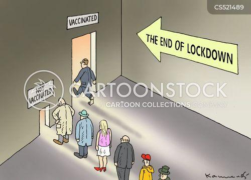 covid vaccine cartoon