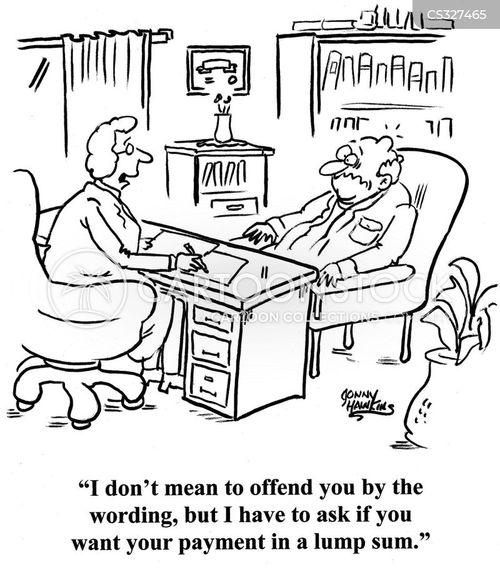 personal injury lawsuit cartoon