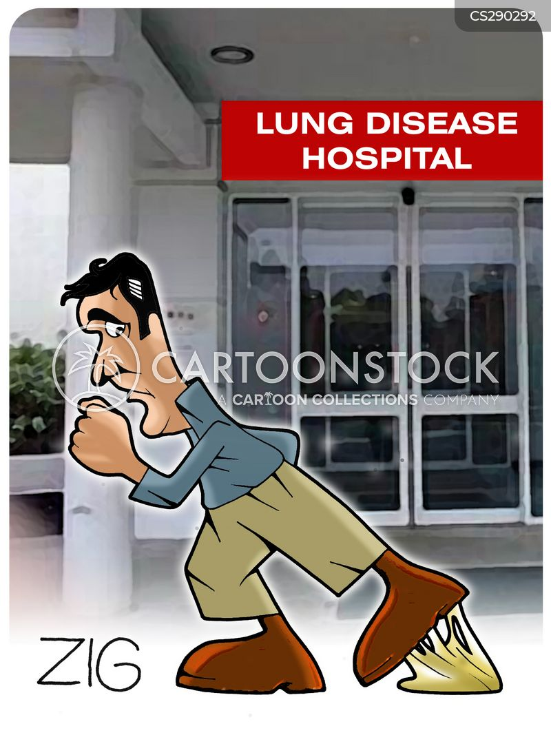 lung diseases cartoon