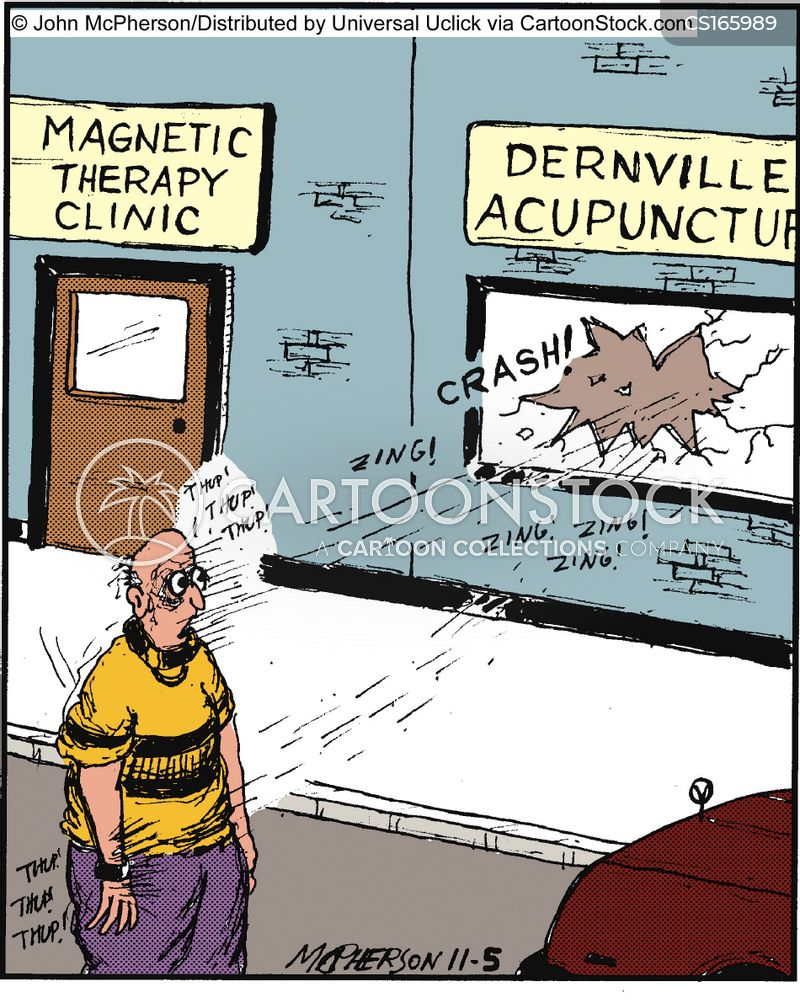 magnetic therapies cartoon