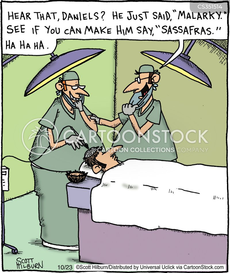 operating tables cartoon