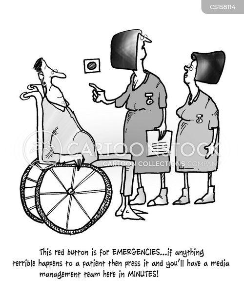 emergency procedures cartoon