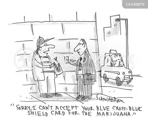 legal marijuana cartoon