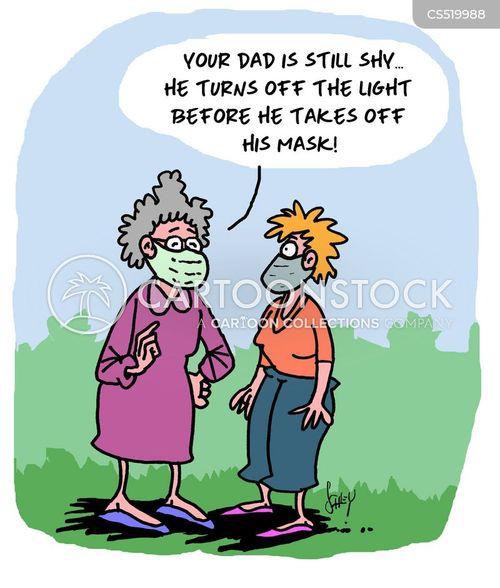 disease prevention cartoon