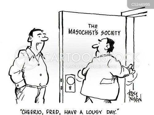masochist societies cartoon