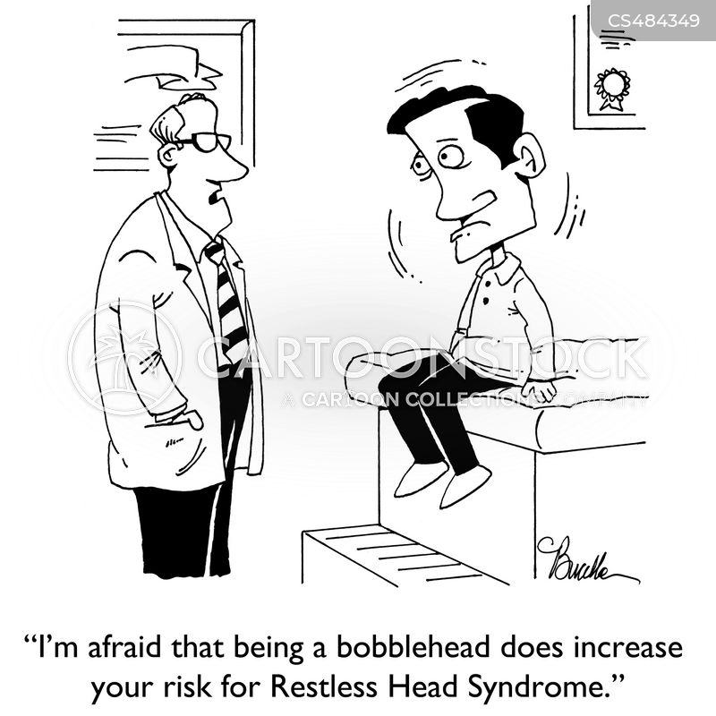 bobble head cartoon