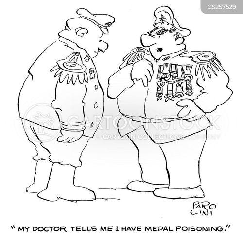 highly decorated cartoon