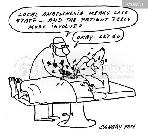anaesthesia cartoon