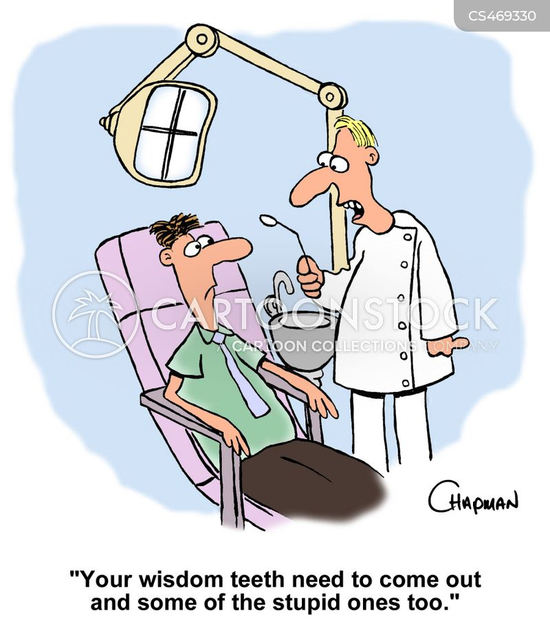 Wisdom Teeth Cartoons And Comics Funny Pictures From Cartoonstock