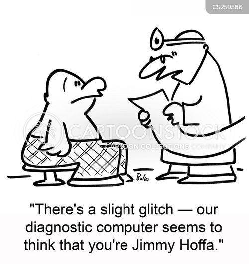 glitch cartoon