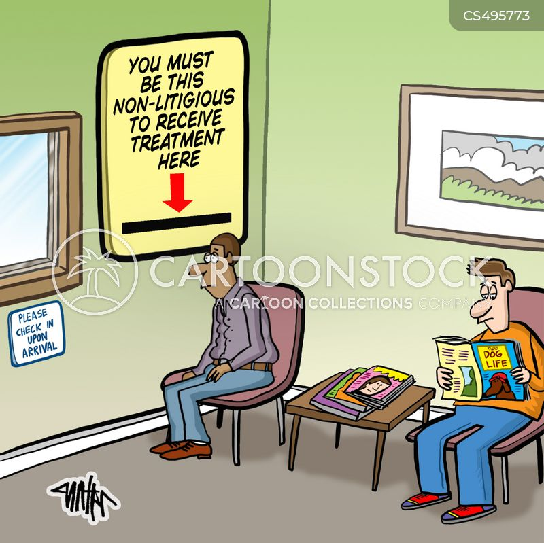 legal requirements cartoon