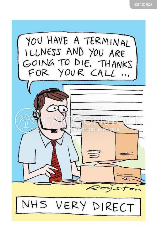 phone line cartoon
