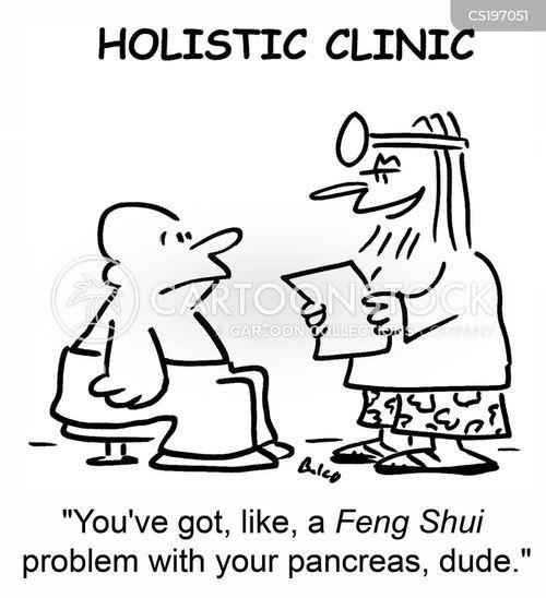 holistic cartoon