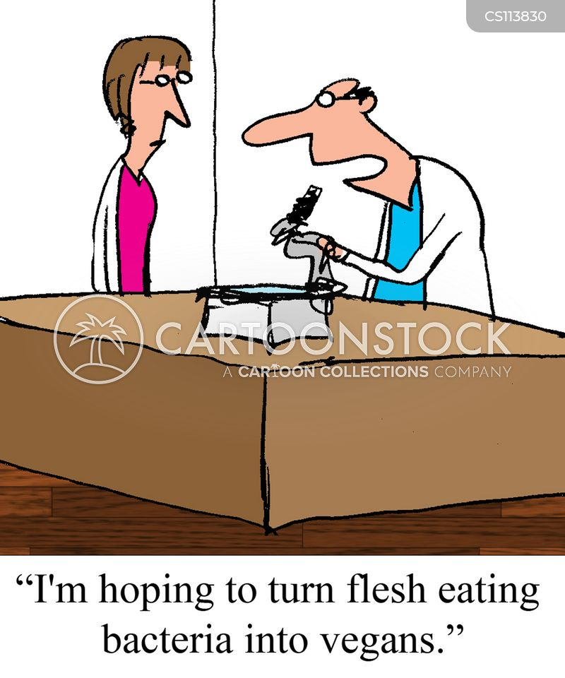 flesh-eating cartoon