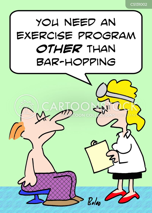 bar hopping cartoon