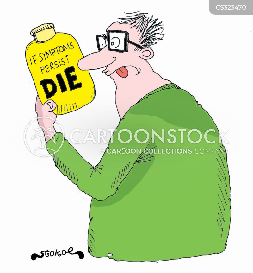 useless advice cartoon