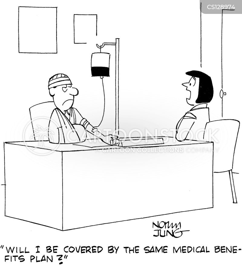 medical benefit cartoon