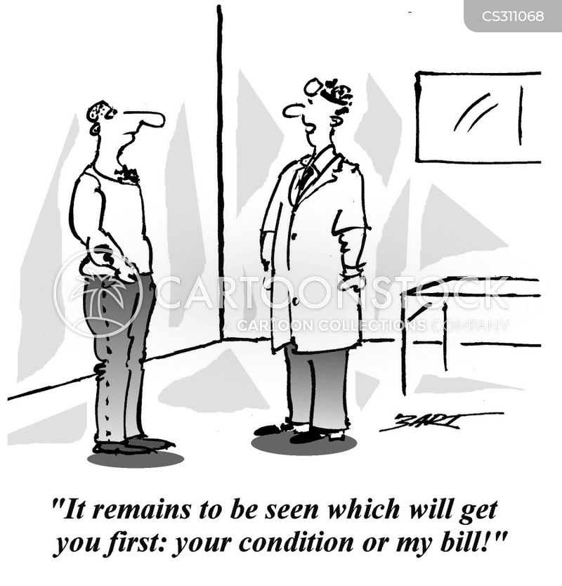 Image result for cartoon underinsured health