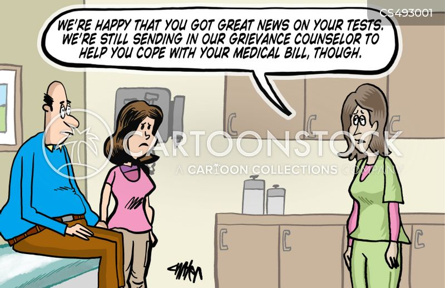 medical debt cartoon