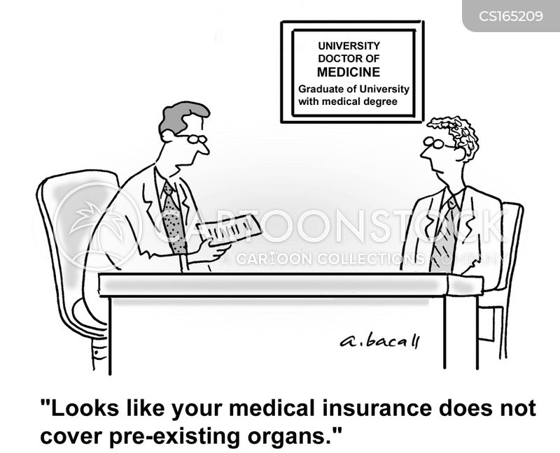 medical coverage cartoon