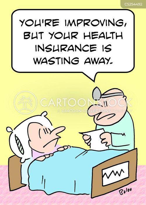waste away cartoon