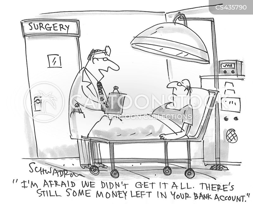 hospital treatment cartoon