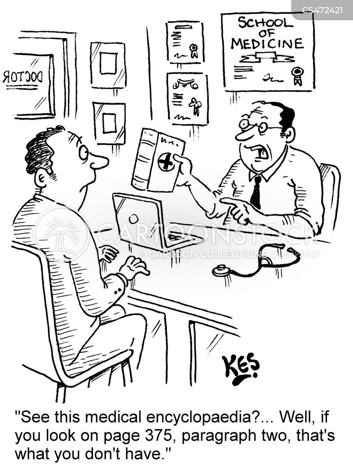 Medical Encyclopedia Cartoons And Comics