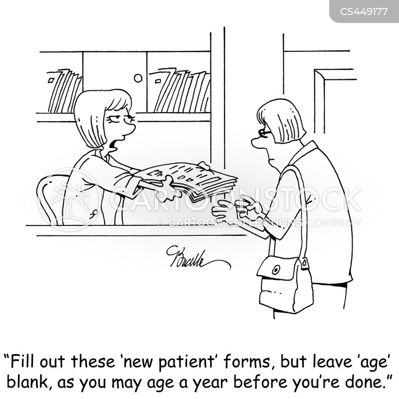 Medical Forms Cartoons And Comics  Funny Pictures From Cartoonstock